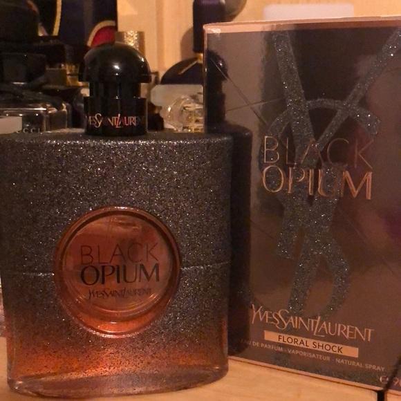Yves Saint Laurent Other Ysl Black Opium Floral Shock Poshmark